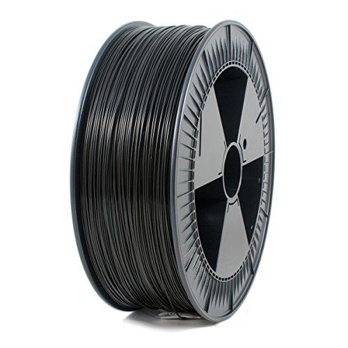 ICE FILAMENTS ICEFIL1PLA103 PLA Filament, 1,75 mm, 2,30 kg, Brave Black