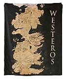 Half Moon Bay Juegos de Tronos THROGT02 125 (w) x 150 (h) cm Manta (Mapa de Westeros)