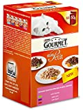 Gourmet Mon Petit Wet Cat Food Game Liver and Beef - Pack of 8