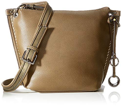 Gabor Umhängetasche Damen Cosima, Grün (Khaki), 29x22x9.5 cm, Gabor Handtasche Damen