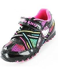 330585e05 Hello Kitty Girl's Rainbow School Shoes Trainers