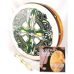 Waltons 12 pouces Croix celtique Bodhran pack
