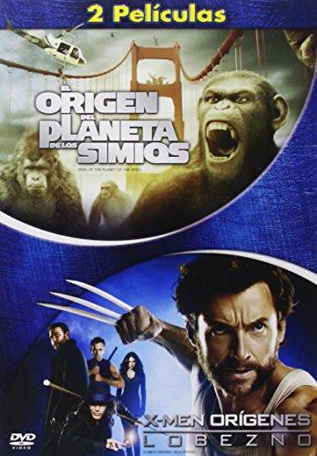 El Origen Del Planeta De Los Simios + X-Men Origenes: Lobezno [DVD]