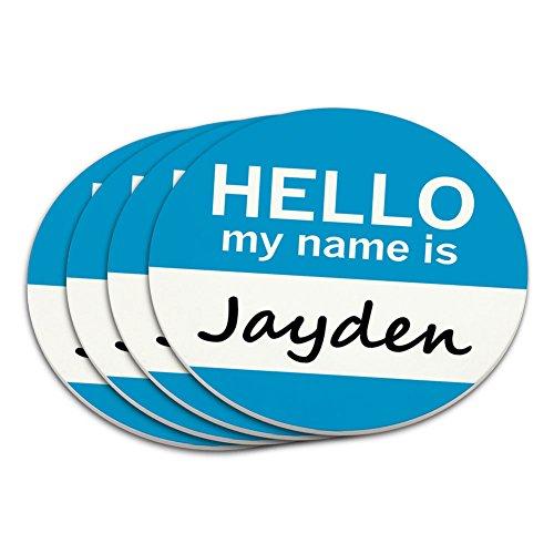 Businesstasche Jayden Hello My Name Is Untersetzer-Set