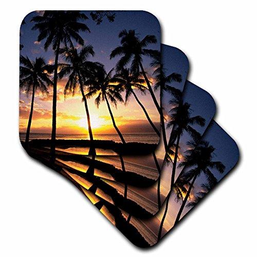 CST _ 89596Danita Delimont–Hawaii–Sunset Lahaina Maui Hawaii–US12dpb0436–Douglas Peebles–Untersetzer, set-of-8-Soft (Küsten-dekor-tischsets)