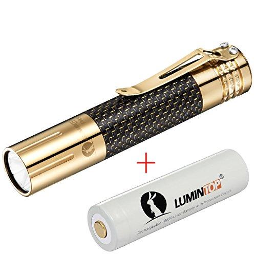 LUMINTOP Prince Brass 1000 Lumens CREE XM-L2 U2 LED Taschenlampe