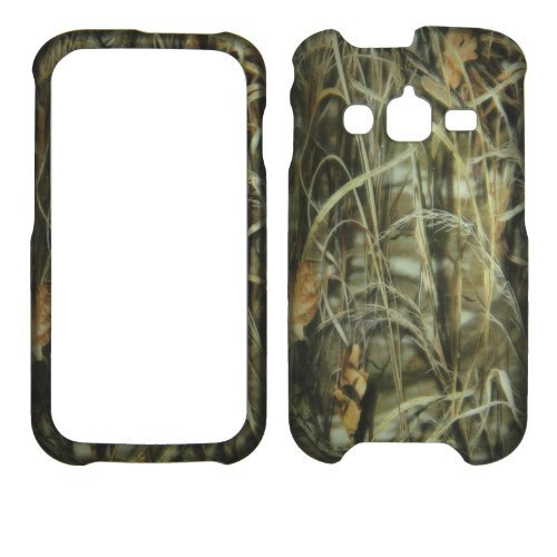 Sawgrass Camouflage Samsung Galaxy Rugby Pro i547 ATT Case Cover Hard Protector Phone Cover Snap on Case Faceplates