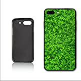 YAMJKS Irish Spring Four Leaf Lucky Charm Hülle for iPhone 7 Plus iPhone 8 Plus Hülle,PC Material Never Fade