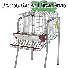 Suinga Bateria GALLINAS PONEDORAS 1 Departamento. Capacidad 5 gallinas. 56x70x95 cm. Protector Anti