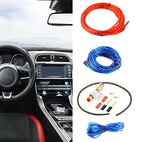 800 Watt 8GA Auto Audio Subwoofer Verstärker AMP Wiring Sicherungshalter Draht Kabel Kit