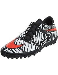 Nike Men's Hypervenom Phelon II NJR Tf Black/Bright Crimson/White Turf Soccer Shoe 9 Men US