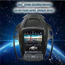 Radio krando Android 10.4 Pantalla Vertical Tesla para Ford Escape Kuga 2013 + GPS ·