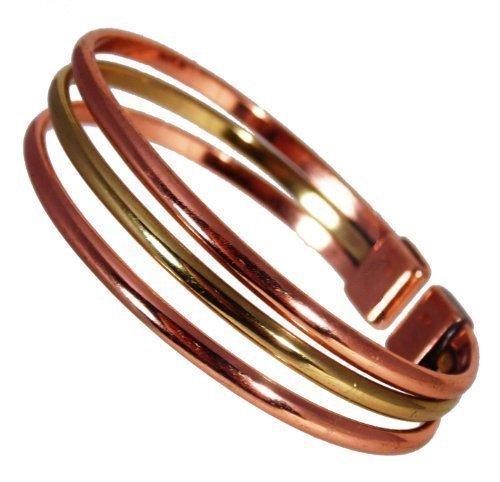 magnetic-copper-brass-triple-bracelet-mcb054