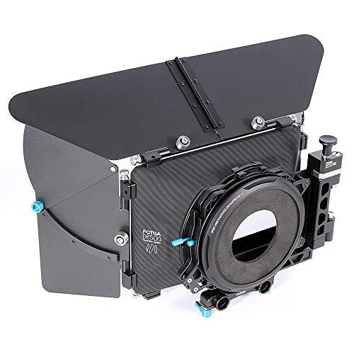 Fotga DP500III Mattebox Professionelle DSLR Swing-away Matte Box Set mit Sonnenschutzdächer für 15mm Rod Rig-System für alle DSLR-Videokameras BMPCC Canon 5DIV Sony A7RII A9 Panasonic GH5S Nikon Dv-matte Box