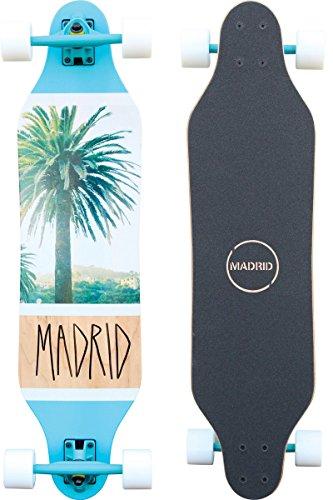 """Madrid Weezer 36\"""" Palm Longboard, One Size"""
