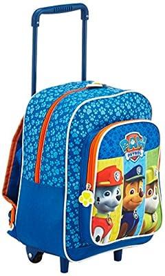Perletti 077328 Paw Patrol Mochila Infantil, Color Azul Marino de Perletti