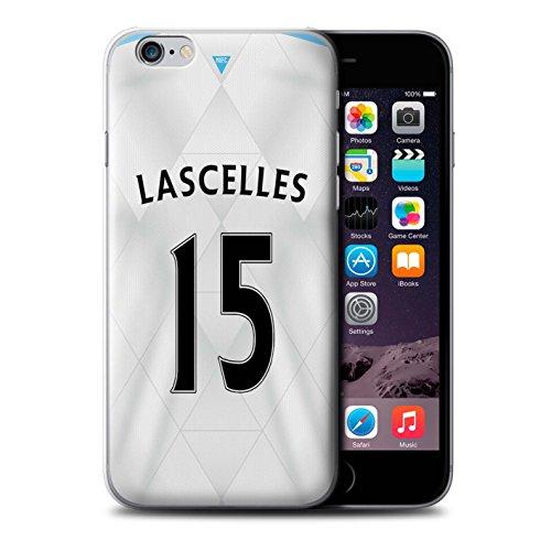 Offiziell Newcastle United FC Hülle / Case für Apple iPhone 6 / Pack 29pcs Muster / NUFC Trikot Away 15/16 Kollektion Lascelles