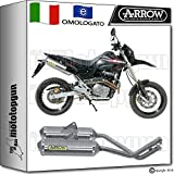 Arrow Auspuff Hom Thunder Aluminium Honda FMX 65020050520060620070772607AO