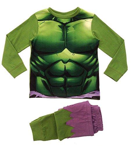 Costume per bambini, utilizzabile anche come pigiama, set di Buzz Lightyear, taglia: 2-3anni verde Incredible Hulk Novelty PJ's 5-6 anni