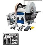 Tormek Nass-Schleifmaschine Super Grind T8 + Zubehörsatz HTK 706 - mit einem aktualisierten Design und einigen überarbeiteten Details