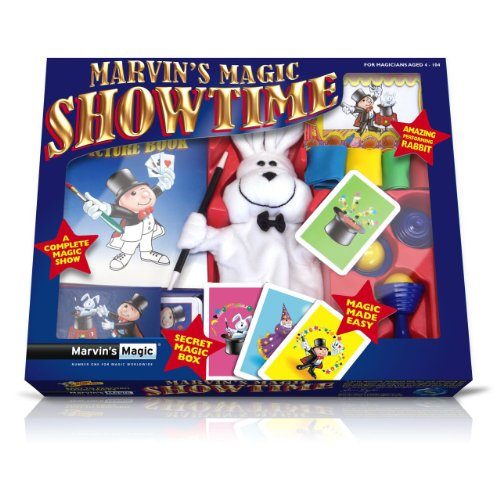 Marvin's Magic Showtime, Complete Magic Show With Amazing Performing Rabbit, Magic Set