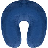 travelstar Travel Neck Pillow with Micro Beads, Navy