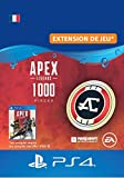 APEX Legends: 1000 Coins - PS4 Download Code - Compte français DLC