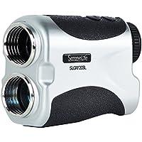 Premium Golf Entfernungsmesser von serenelife–Digital Golf Entfernungsmesser–manuell verstellbare Objektiv Fokus–Kompaktes Handheld Design–pin-seeking & Distance Measuring Erkennung Modi–inkl. Transporttasche