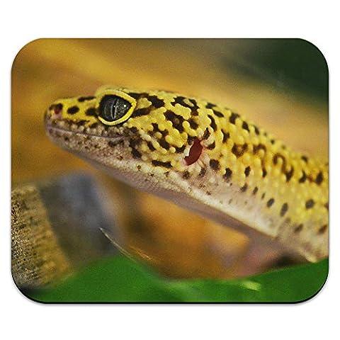 Léopard peau de Reptile lézard Gecko Profile-Tapis de souris tapis de souris