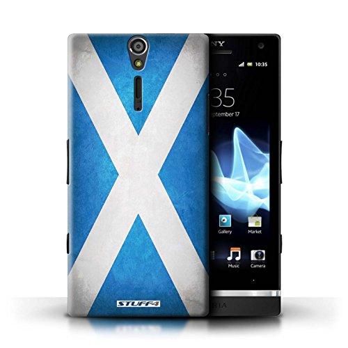 Kobalt® Imprimé Etui / Coque pour Sony Xperia S/LT26i / Jamaïque/jamaïcain conception / Série Drapeau Écosse/écossais