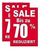 Plakate 2 Stück aus Papier 150g/qm 58,4 x 83,2 cm SALE BIS ZU 70% REDUZIERT ohne Rahmen Werbesymbol