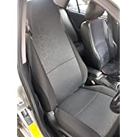 Coprisedili per Fiat Multipla, Colore Grigio, esagonale, (Grigio Su Misura Seat Covers)