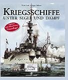 Kriegsschiffe unter Segel und Dampf