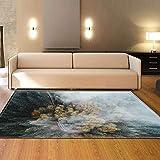 JSBVM Modern Teppiche Anti-Rutsch Teppich Leicht zu reinigender Fleck für Wohnzimmer Schlafzimmer Küche Bad Fitnessstudio Türmatte,F,200×150cm