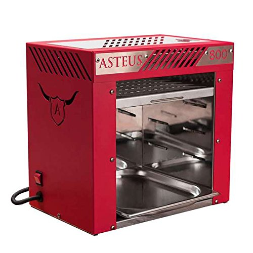 ASTEUS Red Willy - Infrarot Elektro Grill
