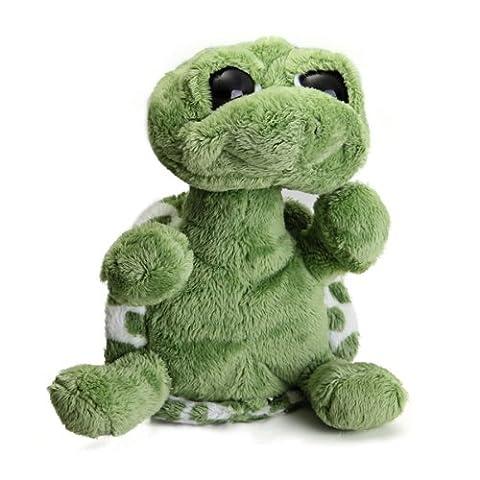 Green Big Eyed Stuffed Tortoise Turtle Doll Plush Toy Gift