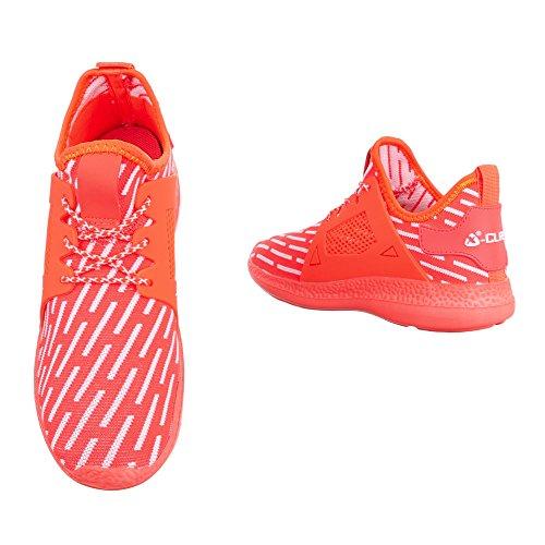 Ital-Design - Pantofole a Stivaletto Donna Corallo