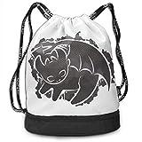 Rucksack mit Kordelzug Toothless Simba Sig Drawstring Backpack Rucksack Shoulder Bags Training Sack...