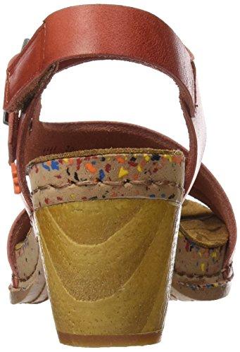 ART Damen 1111 Mojave I Laugh Sandalen mit Knöchelriemen Rot (Granada)