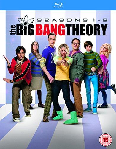 Big Bang Theory - Season 1-9 (16 Blu-Ray) [Edizione: Regno Unito]