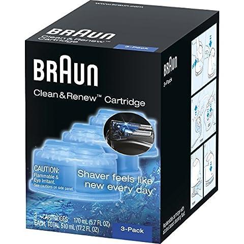 Braun CCR 3 Clean & Charge Reinigungskartuschen