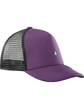 Salomon Gorra de malla para hombre, SUMMER LOGO CAP, Talla única ajustable, Violeta, L40046600