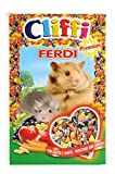 cliffi Ferdi 300g Lebensmittel komplett für Hamster und Mäuse mit Obst und Karotten