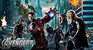 Feuille Comestible A4 Azyme Avengers Movie