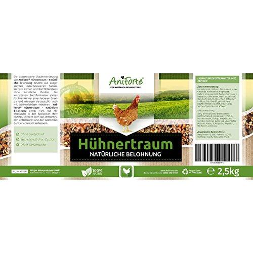 AniForte Hühnertraum Gesunde Belohnung 2,5 kg - Naturprodukt für Hühner - 2