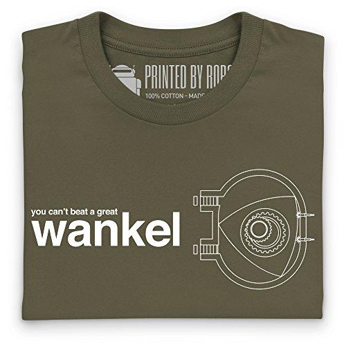 A Great Wankel T-Shirt, Herren Olivgrn