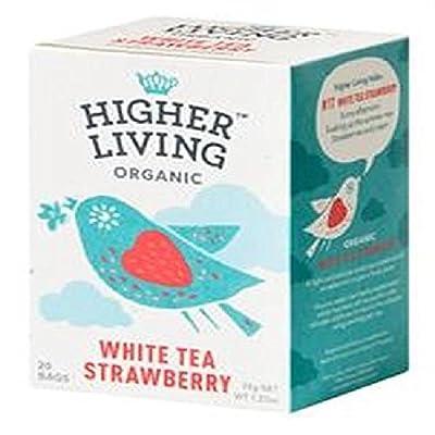 Higher Living - Thé Blanc Fraise*