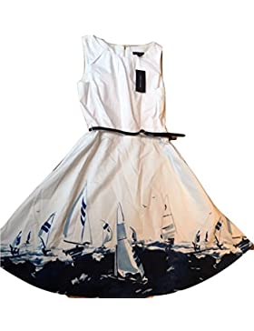 Tommy Hilfiger Kleid, Women's Nautical Print Dress, Size 8 US 40 Europe