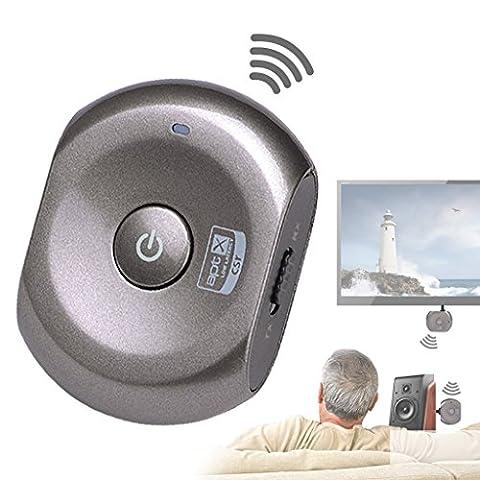 Avantree Récepteur et Transmetteur 2-en-1 Bluetooth aptX FAIBLE LATENCE, Adaptateur Sans-fil pour toute source Audio, Enceintes, Casques audio, TV - Saturn