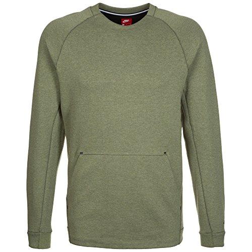 50 Fleece Crew Sweatshirt (Nike Herren Tech Fleece Crew Sweatshirt, grün, L-48/50)